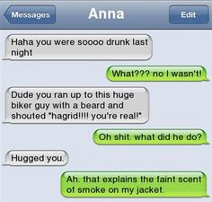 20 Text Messages That Will Make You Reconsider Drinking and Texting