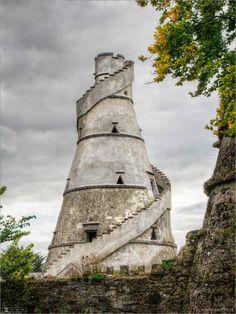 The Wonderful Barn: built in 1743 in County Kildare, Ireland