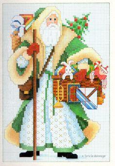La Bande des Faineantes: Christmas cards, cross stitch patterns