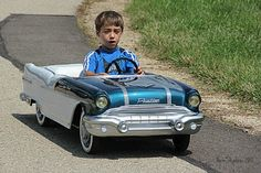 '56 Pontiac pedal car, before my time but would have loved to have this one.