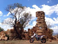 A fort built in 1901 on the #Magaliesberg, the oldest mountain range in the world - #Hartbeespoort Dam.