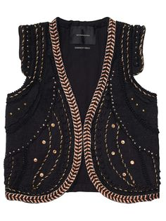 Circus Inspired Gilet With Special Embroideries