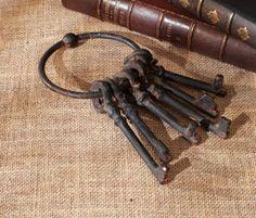 Vintage Keys, Primitive, Decorating, Country, Home Decor, Decor, Decoration, Decoration Home, Rural Area