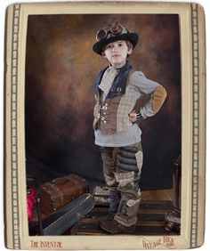 Boutique Steampunk Boys The Inventor Set by VintageDuck on Etsy