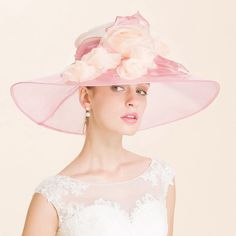 """Ready for 2016 Kentucky Derby Hat !!!. Brim: 18 cm, Height:10 cm. Size: One size for teens, girls and ladies (Head measurement: 55cm, 21-5/8"""", Szie 6-7/8 to 57cm, 22-3/8"""", Size 7-1/8),the hat have the adjustable band inside that you can draw up and tie to make it fit better for a smaller head. 