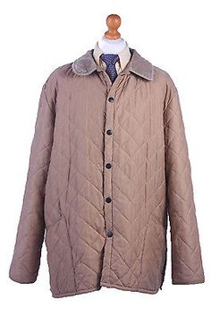 Barbour #quilted jacket #chelsea sportsquilt beige #chest 58'' br378,  View more on the LINK: 	http://www.zeppy.io/product/gb/2/262759641386/