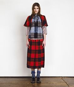 Ace & Jig Fall 2016 Ready-to-Wear Fashion Show Dope Fashion, Womens Fashion, Tartan Fashion, 2016 Fashion Trends, Ace And Jig, Fashion Show Collection, Fall 2016, Look Cool, Ready To Wear