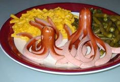 pieuvre rigolote