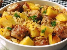 Slovak Recipes, Mince Recipes, Czech Recipes, Pork Recipes, Cooking Recipes, Ethnic Recipes, Slovakian Food, Modern Food, Pork Meat