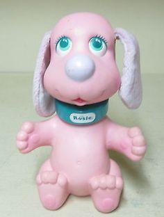 Collectible Tyco Rub A Dub Dog Pink Dog Rosie Doggie | eBay