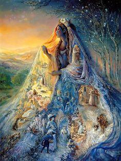 """Veil of Dreams 2"" par Josephine Wall"