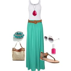 Summer Love, created by doodleluv on Polyvore