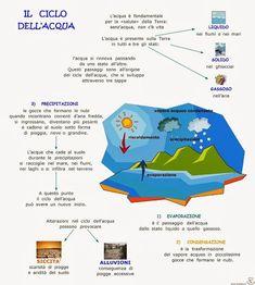 Paradiso delle mappe: Il ciclo dell'acqua