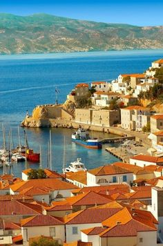 """Hydra, Greece, Rick Steves votes this the best """"hidden"""" spot in Europe!"""