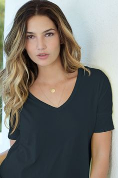 Lily Aldridge- Love the hair!