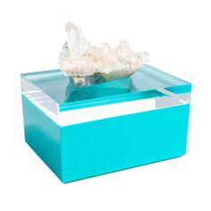 Mapleton Drive Acrylic Box with Quartz Crystal Earring Jewelry Box, Kids Jewelry Box, Large Jewelry Box, Musical Jewelry Box, White Jewelry Box, Wooden Jewelry Boxes, Decorative Objects, Decorative Boxes, Crystal Box