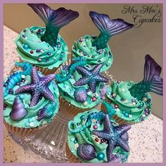 My Mermaid Cupcakes My Mermaid Cupcakes Related posts: Mermaid color cupcakes 7 Easy Mermaid Cupcakes You Can Absolutely Make Yourself The BEST Mermaid Cakes, Cupcakes & Other Sweet Treats Trendy Baby Shower Ideas For Girs Cupcakes Mermaid Parties Mermaid Diy, Baby Mermaid, Cupcake Party, Cupcake Cakes, Mermaid Cake Pops, Little Mermaid Cupcakes, Grolet, Mermaid Birthday Cakes, Cupcakes Decorados