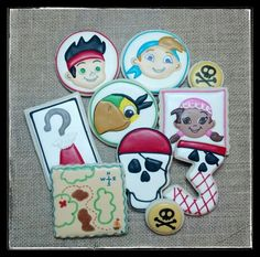 Jake and the Neverland Pirates Cookies.