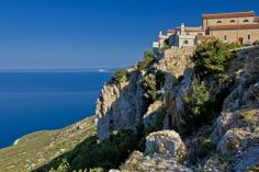 Lubenice, Town on the rock, Island of Cres