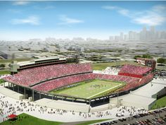 HOUSTON - The University of Houston Board of Regents approved the proposal to build a new football stadium on the same site as the Cougars' on-campus facility, Robertson Stadium.