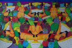 Island Market Women by Douglas Berry