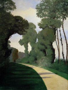 Félix Vallotton, La Poussière, 1912, huile sur toile, 73 x 54cm, collection privée