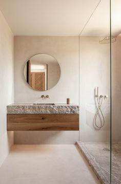 35+ Concrete bathroom designs - polished concrete floors and tile ideas Interior Simple, Loft Interior, Bathroom Interior Design, Bathroom Designs, Modern Bathroom Design, Earthy Bathroom, Small Bathroom, Master Bathroom, Concrete Bathroom