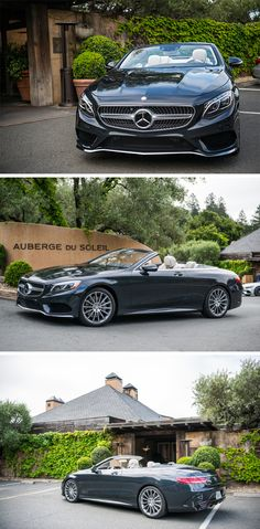 Luxury Cars : Illustration Description A luxurious open-air feeling with the Mercedes-Benz S-Class Cabriolet. Photos by Trent Bona (www.pho…) for via Mercedes-Benz USA Cls 63 Amg, Shooting Brake, Benz S Class, Lamborghini Veneno, Mercedes Benz Cars, Car Engine, Amazing Cars, Used Cars, Luxury Cars