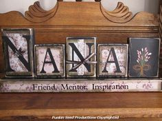 Nana  Friend Mentor InspirationCustom by PunkinSeedProduction, $36.00