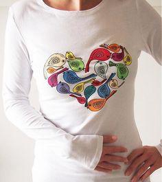United colours of love by miriammiklasova - SAShE.sk - Handmade Tričká