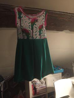 Tulla jurk la maison Victor in tricot maat 128