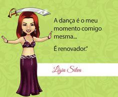Dança: Usufrua sempre deste momento com você!  Mascote da Lígia Silva de Natal - RN. Você também pode ter sua mascote EXCLUSIVA de Dança do Ventre. Junte-se a nós! #dancadoventre #centraldancadoventre #mascotedanca