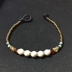 Bracelet gold woman charm jewelry girl necklace baby ring beads buddha stone silver woman accessories smart white beaded gift for friend by TITHAIGoods on Etsy
