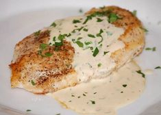 Chicken in Dijon Sauce - Daily Meals - Delicious Recipes Now Dijon Chicken, Fried Chicken, Daily Meals, Yummy Food, Delicious Recipes, Cooking Recipes, Dishes, Meat, Breakfast
