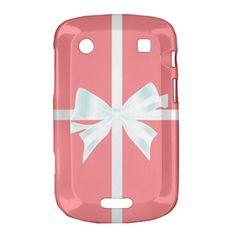 Cute Pink Tiffany Box Bow BB BlackBerry Bold 9900 9930 Dakota Case Cover