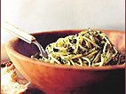 Spaghetti with Fried Capers and Anchovies Recipe - Jan Newberry | Food & Wine Wine Recipes, Pasta Recipes, Cooking Recipes, Anchovy Recipes, Fried Capers, Best Food Ever, Birthday Dinners, Recipes From Heaven, Vegan Vegetarian