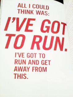The mind of a runner.