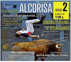 torodigital: Cartel y listado de recortadores de Alcorisa