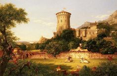 The Past    Artist: Thomas Cole
