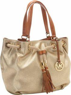 MICHAEL Michael Kors Marina Large Gathered Tote Handbag  - via eBags.com!