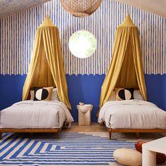 Sarah Sherman Samuel, Kids Room, West Elm, Two Tone Walls, Dream Kids, Bathroom Trends, Baby Room, Townhouse, Nursery Decor