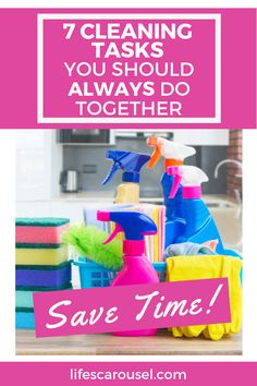 Speed up your cleaning routine with these cleaning duo ideas. Cleaning tasks that you can combine so you can keep your home clean without spending hours cleaning. Cleaning Schedules, Weekly Cleaning, Household Cleaning Tips, House Cleaning Tips, Spring Cleaning, Cleaning Hacks, Porous Materials, Disinfecting Wipes, Old Towels