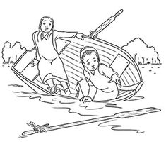 amish coloring pages