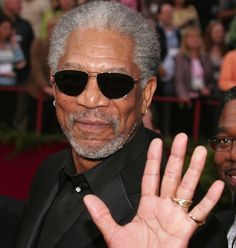 Morgan Freeman | 59 Famous People Who Are Left-Handed....all the BEST people are left handed!!!!