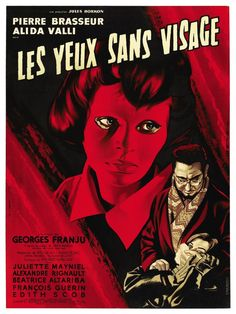 Terror, Thriller , Crimen, Asesinos en serie, Película de culto, 1960, Los ojos sin rostro