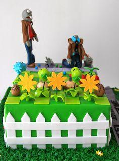 Celebrate with Cake!: Plants vs Zombies Cake