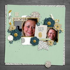 kit: Be Yourself by Meg Designs Template: You Are Worth It Freebie by The Digicrafter also used Drop Shadow Styles by Sunshine Studio