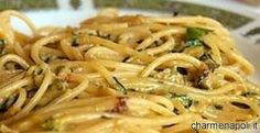 Maria Grazia Courgette Pasta (Spaghetti with Zucchini in the style of Nerano) Italian Pasta Recipes, Yummy Pasta Recipes, Wine Recipes, Cooking Recipes, Italian Foods, Vegan Pasta Sauce, La Trattoria, World Recipes, Pasta Dishes