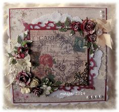 bigm: Lovely cards. I wonder if I can stamp a similar background to these?