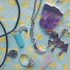 amethyst, wicca, and cute image Wiccan Jewelry, Cute Images, Amethyst, Beautiful, Instagram, Dressing, Art, Art Background, Kunst